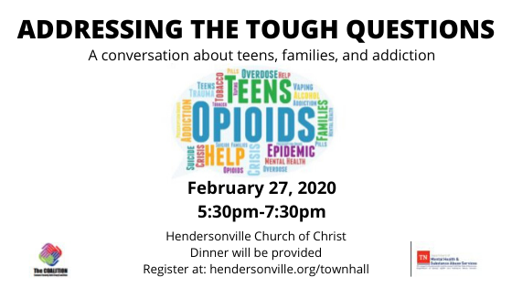 Town Hall Meeting-Addressing the Tough Questions - Must Register Online