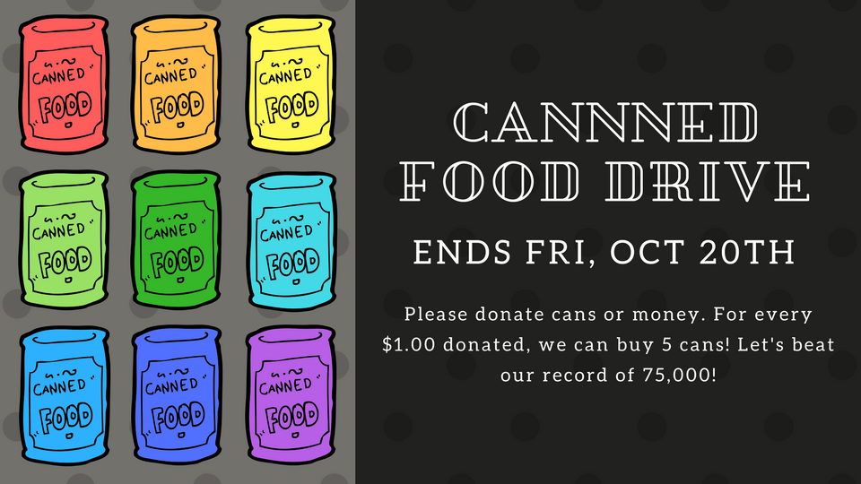 HHS Canned Food Drive