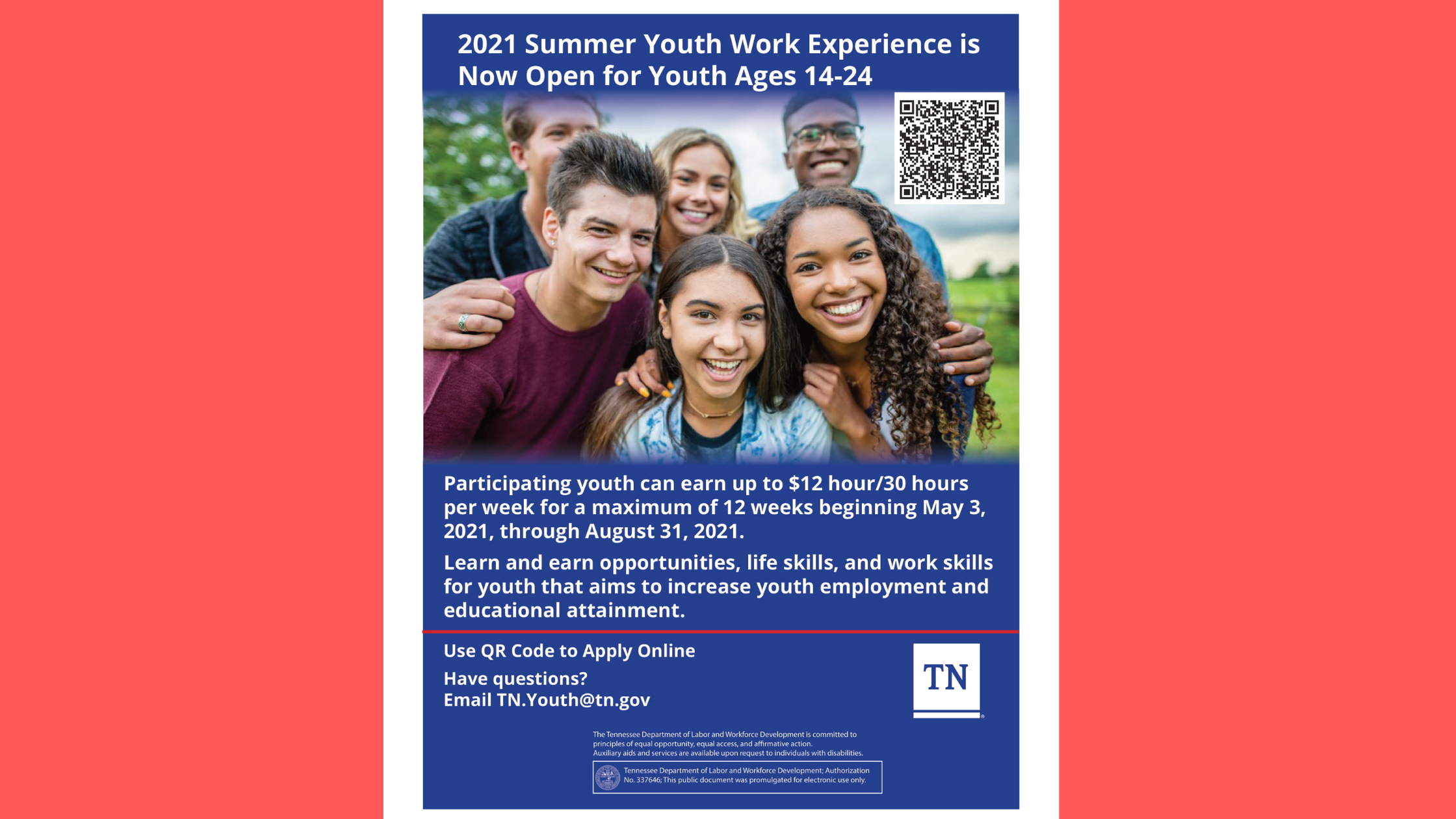 Summer Youth Work