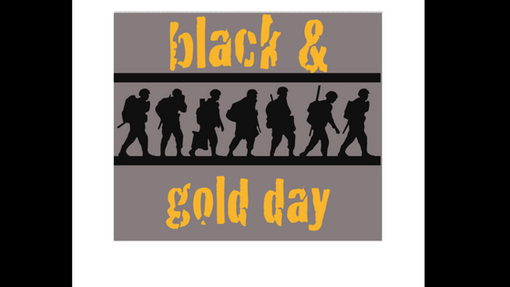 Black & Gold Day - May 7