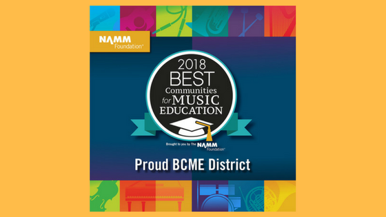 HHS Recognized as One of the Best in the Nation for Music Education